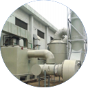 JWC type integrated organic and inorganic chemical waste gas purification treatment equipment