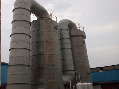 Complete set of equipment for desulfurization and denitrification treatment of sulfur dioxide