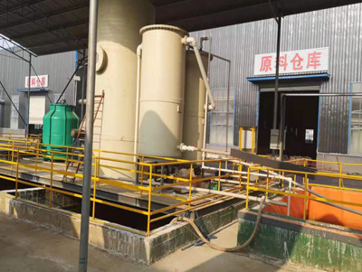A complete set of low-temperature evaporation special treatment of sulfur dioxide, sodium sulfate, sodium hydrochloride, high salt concentration recovery